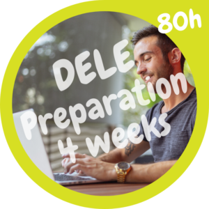 DELE preparation course 80h