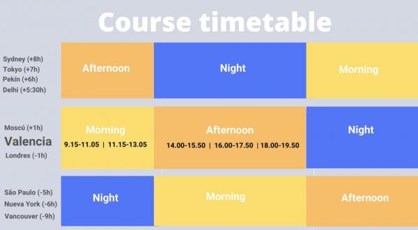 Hispania timetables
