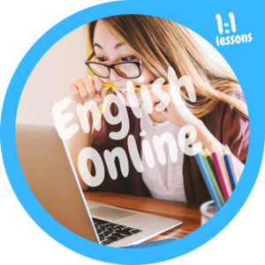English language course online 1to1